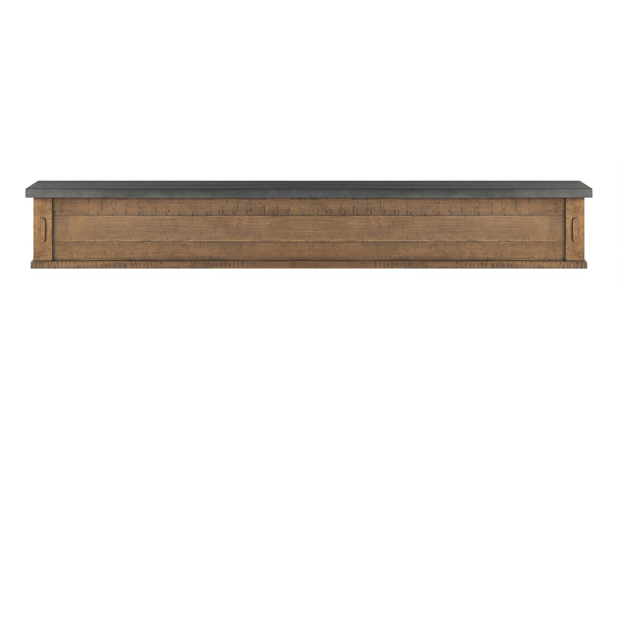 Wood stone mantels and shelf - Pierre decorative pour foyer ...